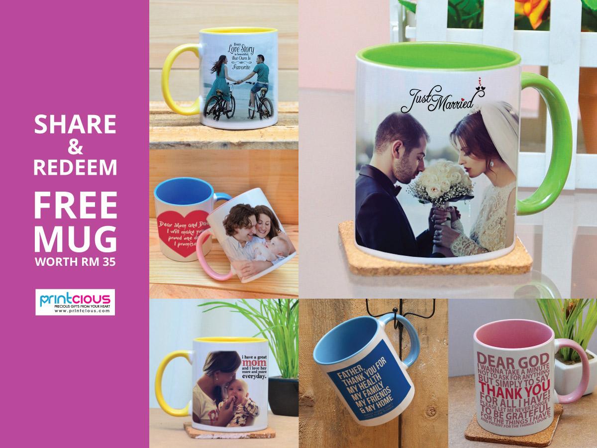 Free Mug Campaign - by Printcious
