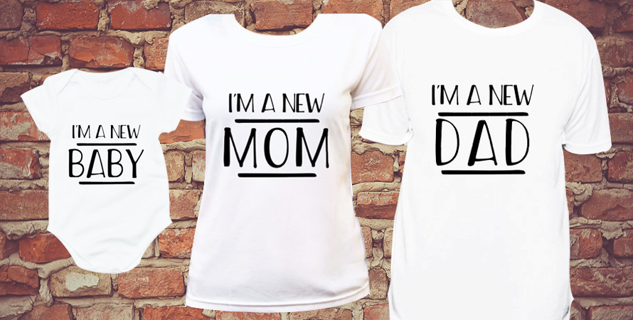 Get matching shirts for the whole family on Printcious.com!