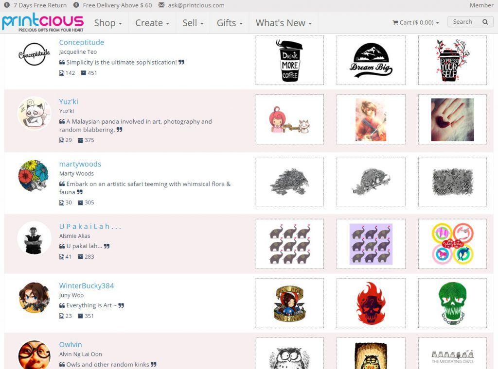 Designer Marketplace - Sell Your Art Online