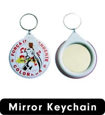 سلسلة المفاتيح المرآة