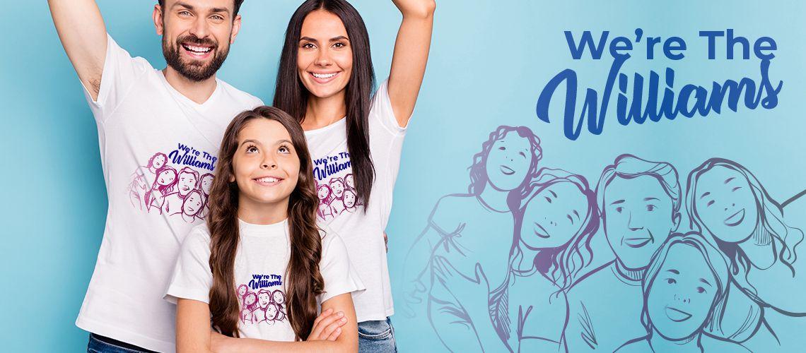 Aile Tişörtleri