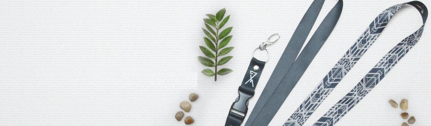Grab your own personalized lanyards and turn it into an accessory!