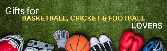 Football Basketball and Cricket Lovers