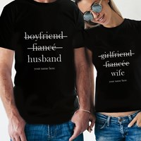 Couple Tee Fiance