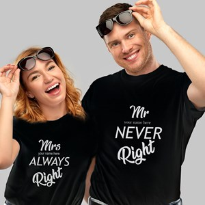 Mr & Mrs Always Right