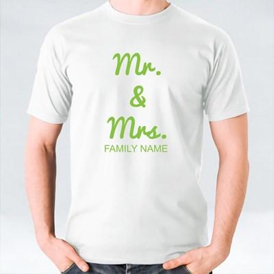 Mr & Mrs Family Name