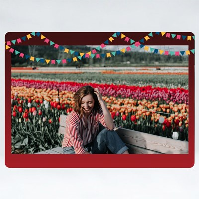Red Party Frame