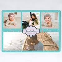 4 White Photo Frame