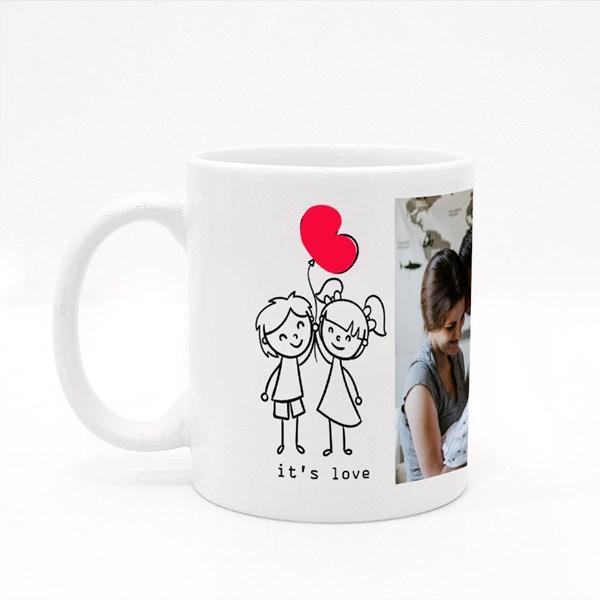 It Is Love Heart Balloon
