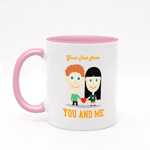 You and Me Vector