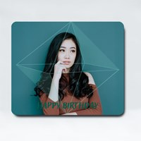 Green Emerald Birthday Frame