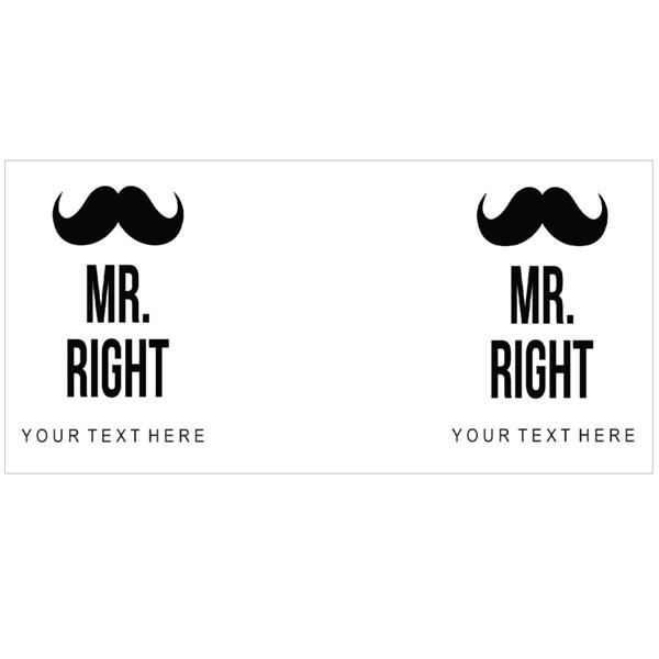 Mr Right Moustache
