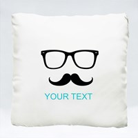 Spectacle Moustache With Your Name