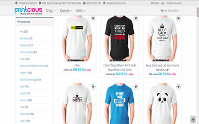 Create Your Own T-shirt Design