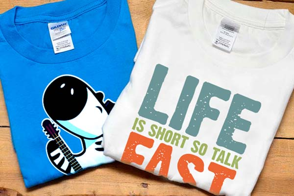 Customise, Design and Print Your T-Shirts Online