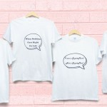 Winners Of Personalised T-shirt For Speech Bubble Contest