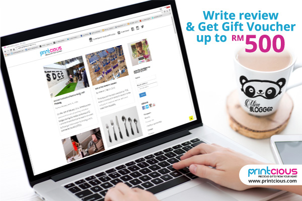 Write A Blog Review And Earn Up To RM500