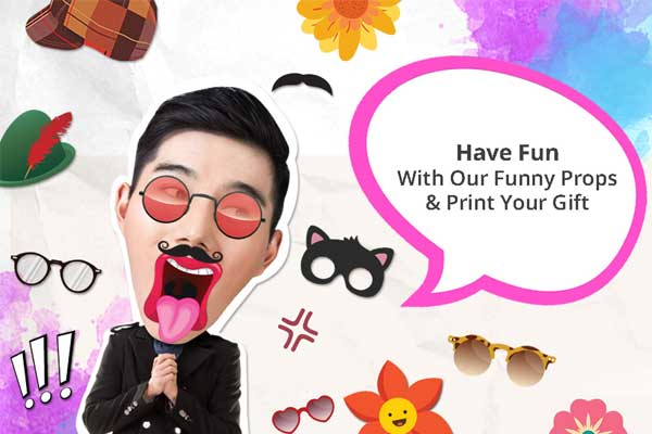Printcious Online DIY Printable Photo Booth Prop