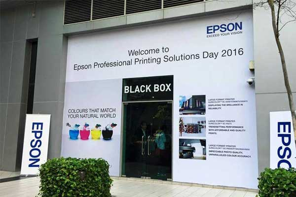 Epson feat Printcious at Professional Printing Solutions Day