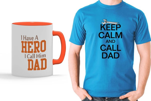 Customised Father's Day Gift and Present Ideas