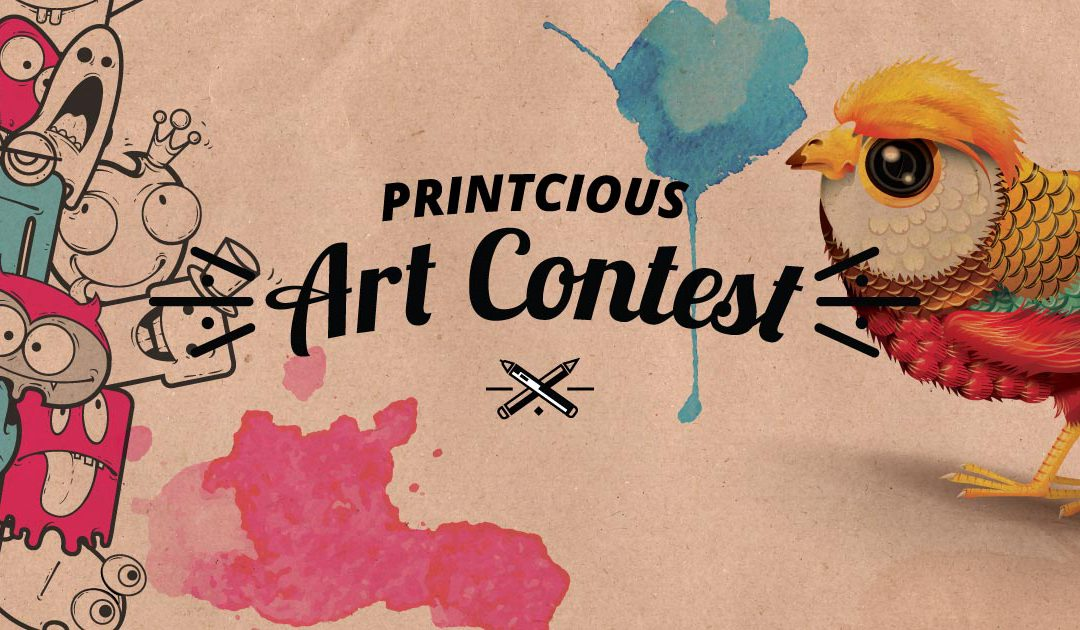 How To Join The Printcious Art Contest
