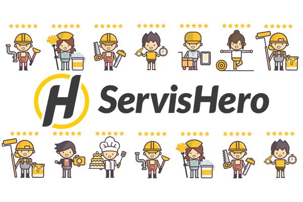 Need someone to save the day? Call ServisHero!