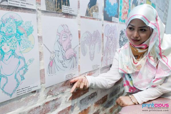 Berkarya Tanpa Batasan Bersama Printcious Art Contest