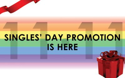 Singles' Day Promo is Here!