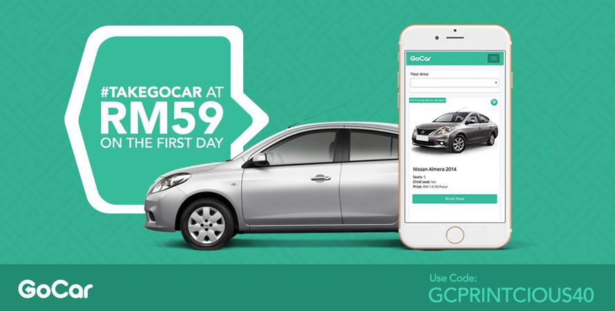 GoCar Malaysia voucher code