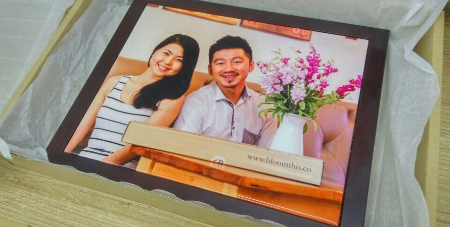 BloomThis photo frame