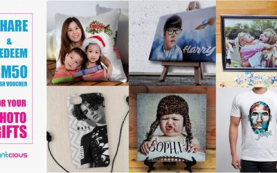 SHARE & REDEEM RM50 Cash Voucher For Your Photo Gifts