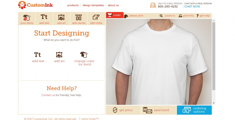 Custom T Shirt Design Software Free