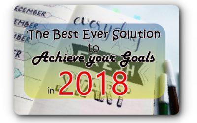 Accomplish your GOOAAAAAAAALS in 2018!