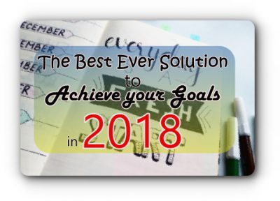 Accomplish your GOOAAAAAAAALS in 2018!