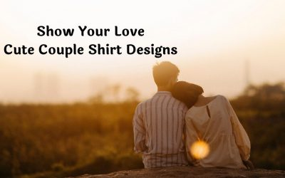 Show Your Love with Cute Couple Shirt Design